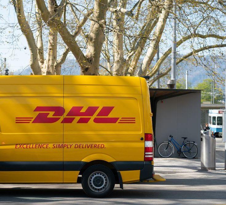 Boka din transport med DHL